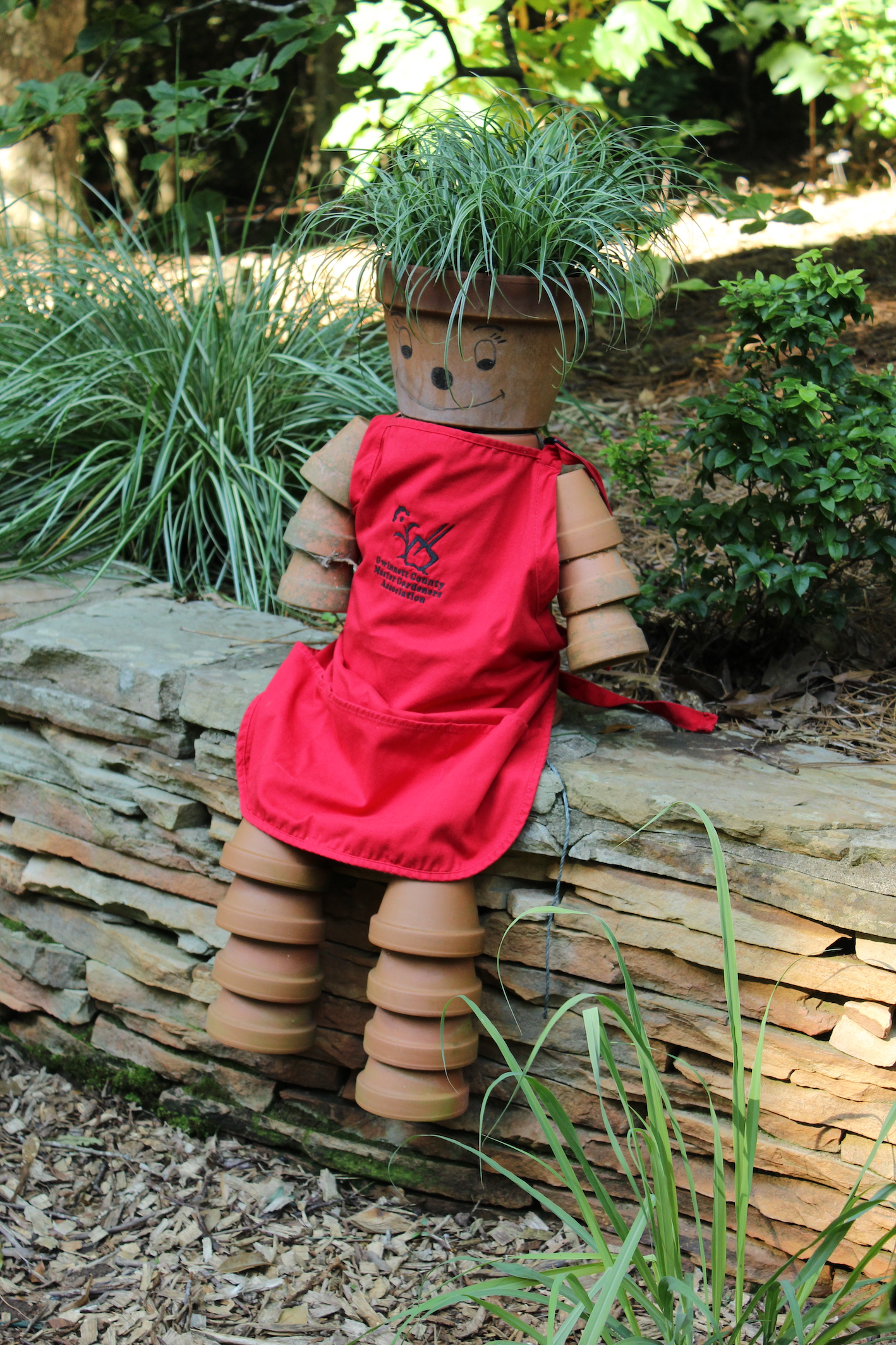 Varlamoff Garden: Potted Wonder welcomes all to the hosts' sustainable garden haven